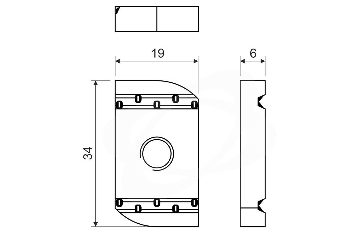 Posuvna Matice M6 S Pruzinou Elektroinstalacni Material Sonepar