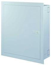 Rozvodnice pod omítku  96M plné dveře (4 řady) ocel-plech IP30 Distri