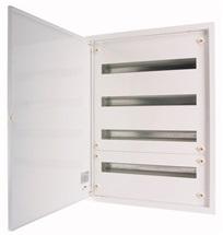 Rozvodnice pod omítku 132M plné dveře (4 řady) IP30 BF-U bílá