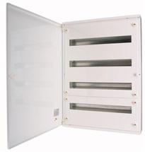 Rozvodnice nástěnná  72M plné dveře (3 řady) IP30 BF-O bílá