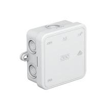 Krabice odbočná A 8 prázdná světle šedá IP54  8 kabelových vývodů