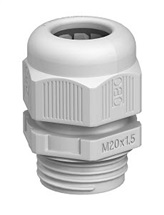 Vývodka M20 V-TEC IP68 stříbřitě šedá