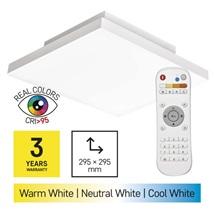 Svítidlo přisazené LED 18W 2700-6500K 1200lm 300x300 IP20 + ovl. CRI95