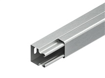 Kabelový žlab s víkem LLK 40.040 s děrováním dna,délka 2m