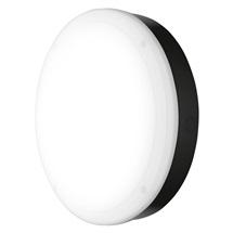 Svítidlo přisazené LED 15W 4000K 1400lm kruh 300 černá IP65